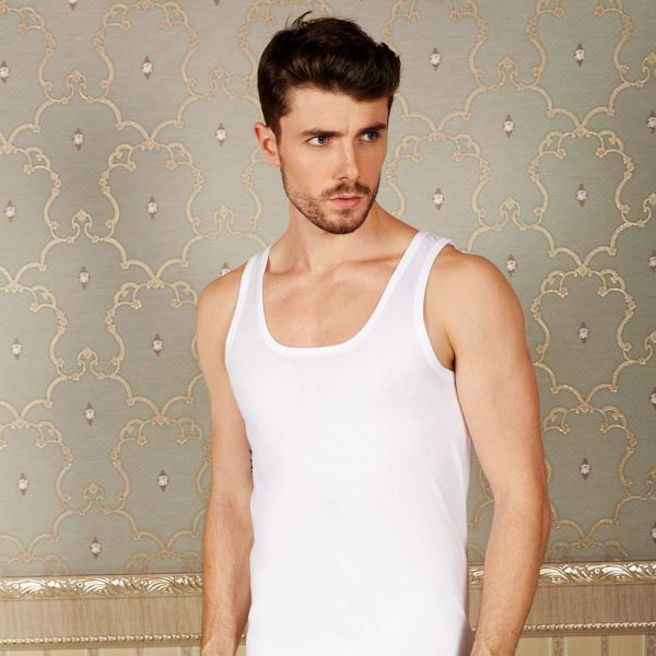 Wholesale Men Collection, Men's tank-top