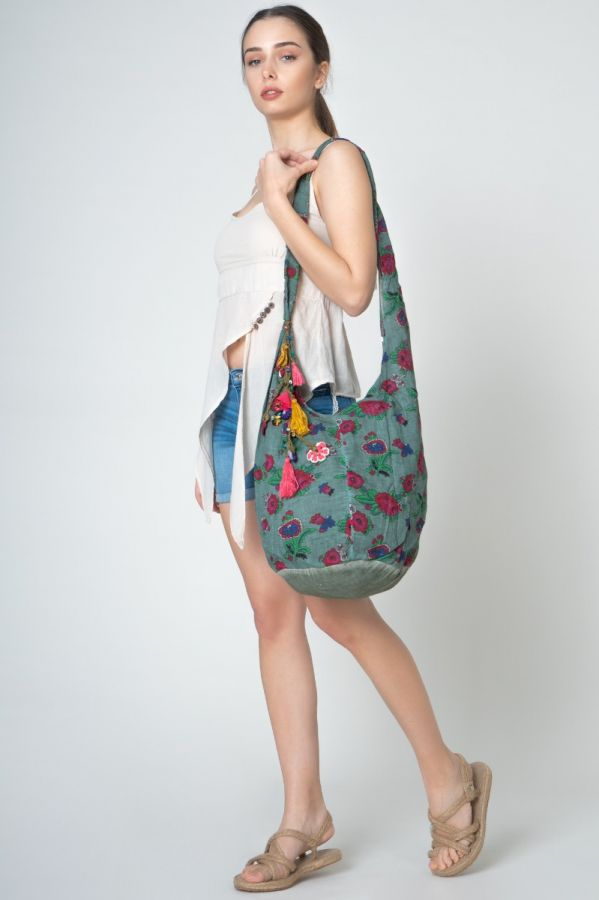 Green Authentic Pack Women Bag