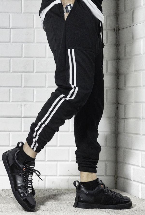 Brown Color Sweatpants , Men Street Fashion