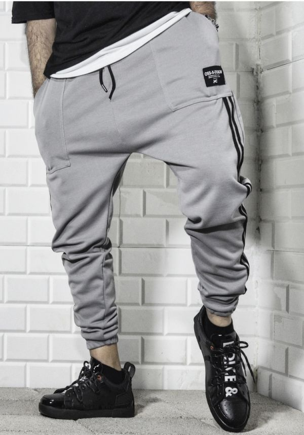 Brown Color Sweatpants , Men Street Fashion